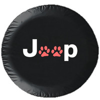 Jeep Paws Tire Cover. Now in MULTIPLE COLORS!!