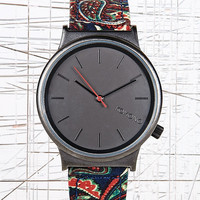 Komono Fat Wizard Watch in Paisley Print - Urban Outfitters