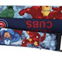 "MLB Chicago Cubs Marvel Avengers Reversible Lanyard, 24"", Blue"
