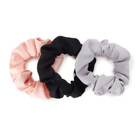 Multicolor Scrunchie Set