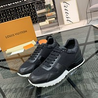 lv louis vuitton men fashion boots fashionable casual leather breathable sneakers running shoes 1155