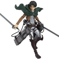 Figma Max Factory X Masaki Action Figure Series Attack On Titan Levi #213