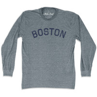 Boston City Vintage Long Sleeve T-Shirt