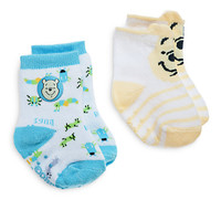 Winnie the Pooh Sock Set for Baby - 2 Pack