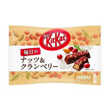 Japanese Kit Kat Almond and Cranberry Limited Edition, 12 pieces