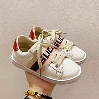 Gucci Child Girls Boys shoes Children boots Baby Sandle Toddler Kids Child Fashion Casual Sneakers Children's Shoes