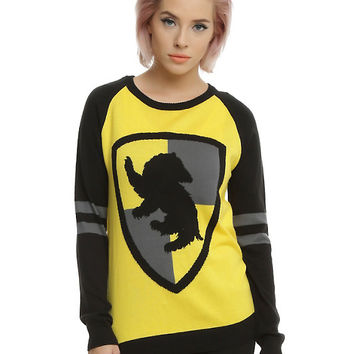 Harry Potter Hufflepuff Girls Pullover Top