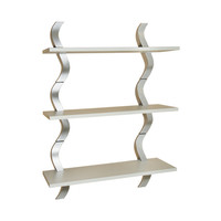 Wave 3 Shelf Wall Shelving
