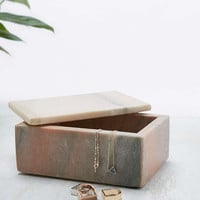 Large Low Marble Box - Urban Outfitters