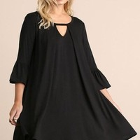 Southport Shift Dress - Black