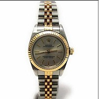 Rolex Oyster Perpetual swiss-automatic female Watch 76193 (Certified Pre-owned)