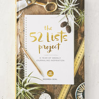 The 52 Lists Project: A Year Of Weekly Journaling Inspiration By Moorea Seal   Urban Outfitters