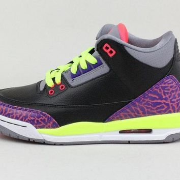 [Free Shipping ]Nike Air Jordan 3 Retro 441140-039 Basketball Sneaker