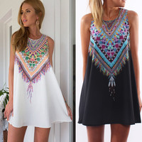 Big Sale on Sexy summer Maxi Party Mini Dress