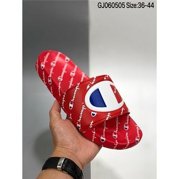 New champion cheap Men's and women's nike Slippers Beach shoes
