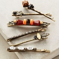 Astre Bobby Set by Anthropologie in Gold Size: One Size Hair