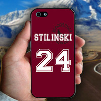 Teen Wolf Stilinski Lacrosse Jersey - Print on hard plastic case for iPhone case. Select an option