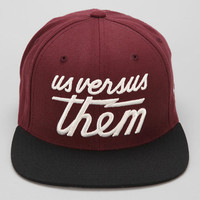 Us Versus Them Magnum Snapback Hat  - Urban Outfitters
