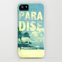 Paradise iPhone & iPod Case by M Studio