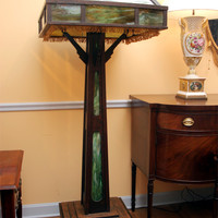 Arts and Crafts large Floor Lamp
