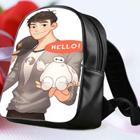 Baymax Hello for Backpack / Custom Bag / School Bag / Children Bag / Custom School Bag **