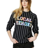 LOCAL HEROES HOLOGRAPHIC sweatshirt