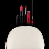 M·A·C Cosmetics | Products > Lip Kits and Bags > Keepsakes/Red Lip Bag