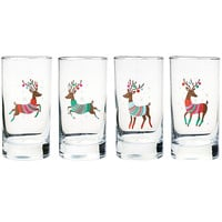 Dashing Reindeer Glasses