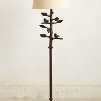 Sibley Floor Lamp by Anthropologie in Carbon Size: One Size Lighting
