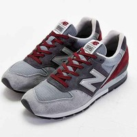 New Balance 996 Made In USA Connoisseur Painters Running Sneaker- Grey