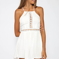 Love Story Playsuit - White