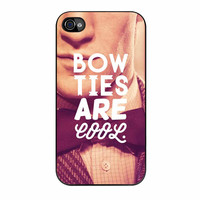 Doctor Who Dr Smith Bow Ties Are Cool iPhone 4s Case