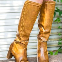 Tan Sleek Boots