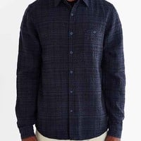 Native Youth Overdyed Jacquard Button-Down Shirt