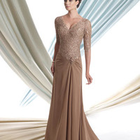 Mother of the Bride Dresses – Montage by Mon Cheri 113906 Lace with Sleeves