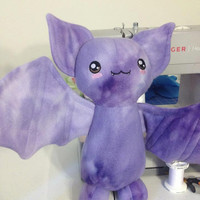 Large Bat plushies by Cogs & Creatures