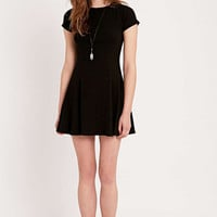 BDG Jackie A-line Dress in Black - Urban Outfitters