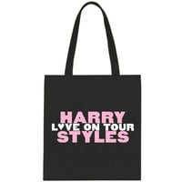 """Harry Styles """"Love on Tour // HSLOT"""" Tote Bag"""