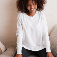 Aerie Hometown Sweatshirt, White