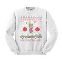 Cindy Lou Who What's Good Crewneck Sweatshirt