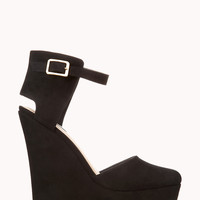 Timeless Faux Suede Wedges