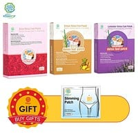 Buy 3 Get 1 KONGDY 30Pieces / 3Boxes Detox Foot Patch for Relax Pressure Improve Sleep Quality Beauty Slimming Patch Gift