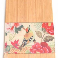 Morning Sparrow Wooden Cutting Board