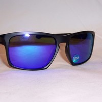 New Oakley Sunglasses SLIVER OO9262-10 BLACK/VIOLET MIRROR POLARIZED 9262