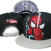 TokiDoki Marvel Spider-Man Snap-back Cap for Adults