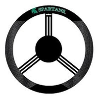 Michigan State Spartans Steering Wheel Cover - Mesh