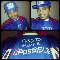 "Bigg-upp to my dude @whysguy ""GOD Makes Impossible....Possible"" Matthew 19:26 ... - crossstitchapparel @ Instagram Web Interface - 5th village"