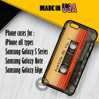 Awesome Mixtape Guardian Galaxy iPhone 7 7+ 6s 6 SE Cases Samsung Galaxy S7 edge S6 S5 NOTE 7 5 4 3