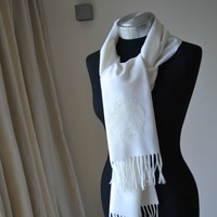 NEW GENUINE VERSACE WOOL SCARF MADE IN ITALY WOMAN / MEN Gift