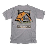 Gone Camping Tee in Granite by Fripp & Folly